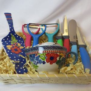 Colorful Kitchen Basket